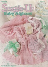 Snuggle-Up Baby Afghans, Leisure Arts Crochet Pattern Booklet 3205 - $4.95