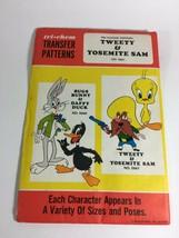 Vintage Tri Chem Transfer Patterns Bugs Bunny & Daffy Duck #0660 New Old... - $11.63