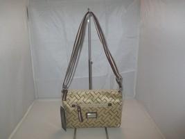 Tommy Hilfiger Handbag Canvas Messenger Crossbody Bag, Purse $59 Khaki /... - $29.99
