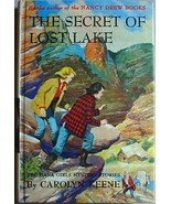 Dana Girls #24 SECRET OF LOST LAKE Near Fine be... - $25.00