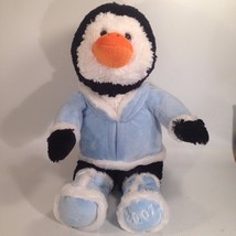 Plush PENGUIN Holiday Pets Record & Play SNUGGLE TOY INC - $16.66