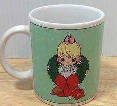 Precious Moments Surrounded With Joy 1996 Christmas Holiday Mug Enesco - $9.49
