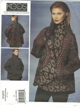 Vogue 1277 Koos Van Den Akker Reversible Wrap Jacket Pattern Misses Size... - $17.63