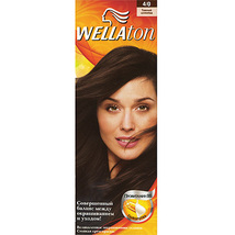 Wellaton cream hair dye - 4.0 moderately brown - $11.00