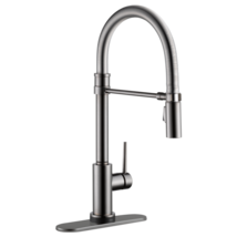 Delta Trinsic: Single Handle Pull-Down Spring Spout Kitchen Faucet with Touch2O  - $700.98