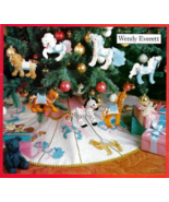 Butterick 4351 THE MERRY GOES AROUND Horse Carousel Ornaments Pattern - $24.95