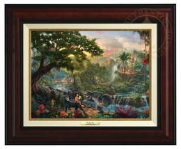 Thomas Kinkade - Jungle Book - Canvas Classic (Burl Frame) - $375.00