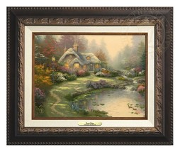 Thomas Kinkade Everett's Cottage – Canvas Class... - $250.00