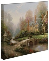 "Thomas Kinkade Wrap - Beyond Spring Gate – 20"" ... - $155.00"