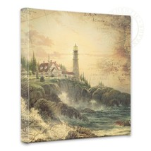 Thomas Kinkade - Clearing Storm Map Collage - 1... - $75.00