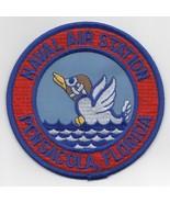 "4"" NAVY NAS PENSACOLA FLORIDA NFO USAF NAVIGATORS ROUND EMBROIDERED PATCH - $23.74"