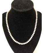 """18"""" 6mm Pearl Necklace 20 Grams In A Bag Marked Cherish W/14K Yellow Gol... - $50.25"""