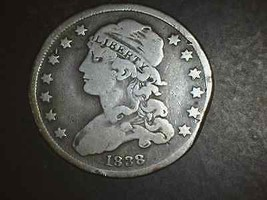 1838 Bust Quarter Vf 832,000 Mintage   5124 - $149.00