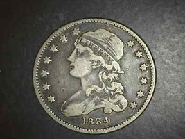 1834 BUST QUARTER VF+ EXCEPTIONAL COIN - 5119 - £184.46 GBP