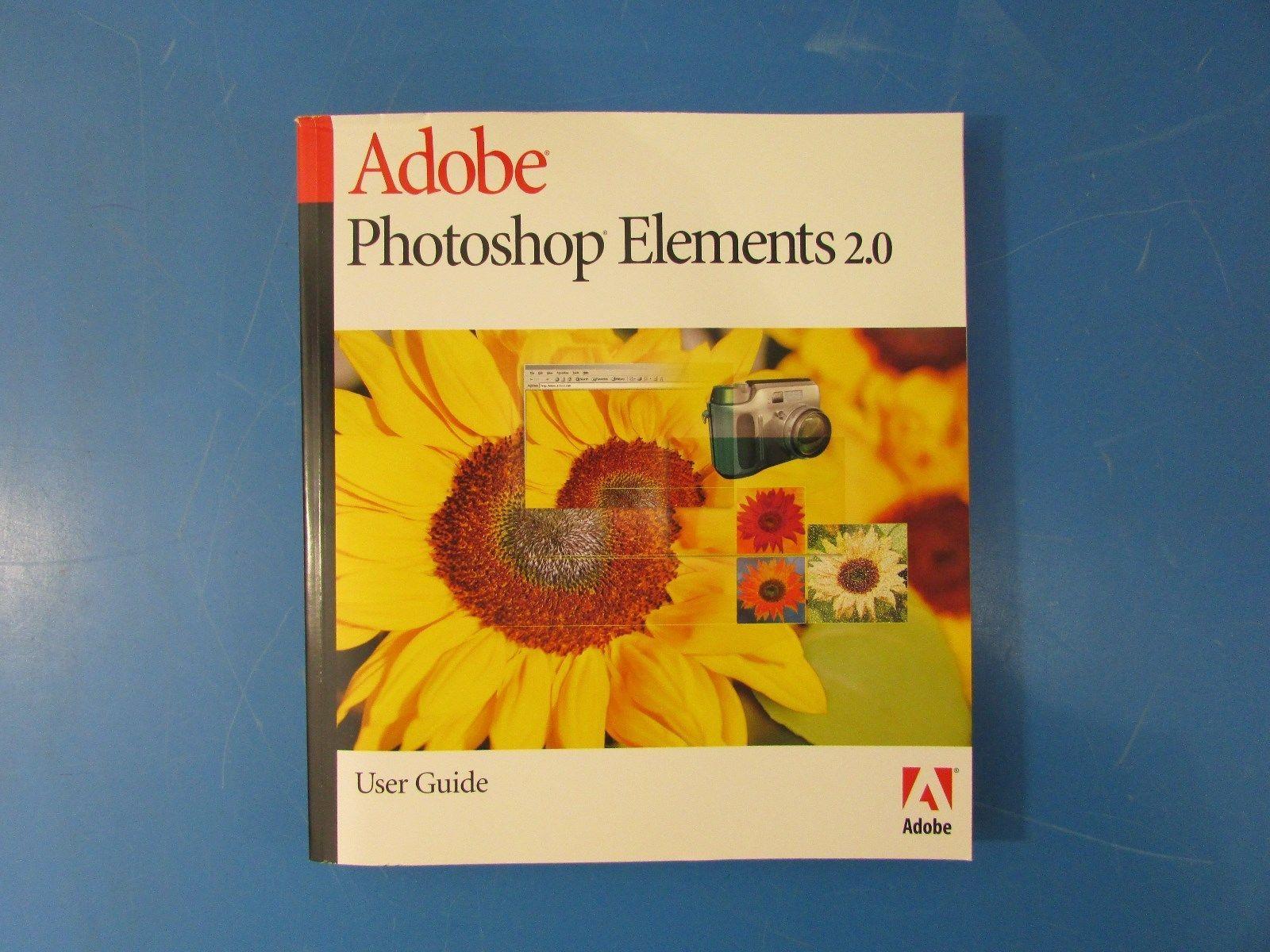 adobe 49230201 photoshop elements 2 0 user and 50 similar items rh bonanza com Adobe InDesign Adobe Photoshop Elements 12