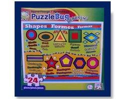 Puzzlebug Learning Puzzle ~ Shapes - $0.89