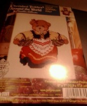 "Janlynn Cross Stitch Kit ""Cherished Teddies Italy Sophia"" 5 X7 Sealed Usa Made - $10.39"