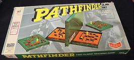 PATHFINDER VTG 1977 MILTON BRADLEY BOARD GAME COMPLETE PIECE SET TWO PLA... - $19.79