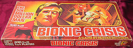 BIONIC CRISIS BOARD GAME 1975 PARKER BROTHERS THE SIX MILLION DOLLAR MAN... - $22.77
