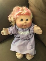 Cabbage Patch Kid With Signature  - $16.36