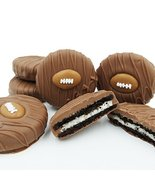 Philadelphia Candies Milk Chocolate Covered OREO Cookies, Football 8 Oun... - $14.80
