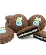 Philadelphia Candies Milk Chocolate Covered OREO Cookies, Blue Stork (It's a Boy - $14.80