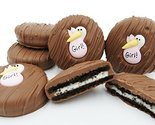 Philadelphia Candies Milk Chocolate Covered OREO Cookies, Pink Stork (It's a Gir