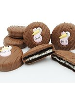 Philadelphia Candies Milk Chocolate Covered OREO Cookies, Pink Stork (It's a Gir - $14.80