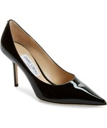 Jimmy Choo Love Pointed Toe Pump Shoes Black Size 42 MSRP: $595.00 - $386.09