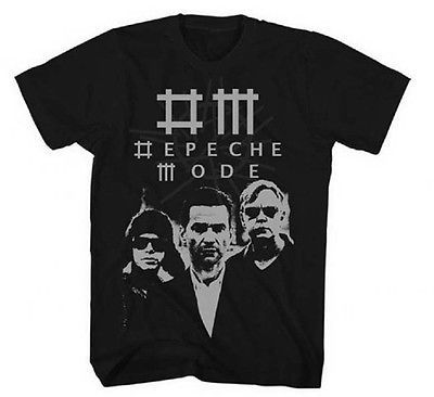 Depeche Mode T Shirt 80's 90's alternative new wave black 100% cotton tee