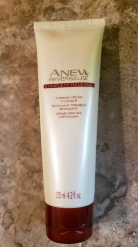 Primary image for AVON Anew Reversalist Complete Renewal Foaming Cream Cleanser NEW Full Sz 4.2oz