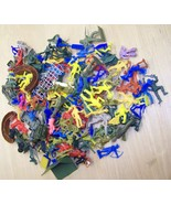 Lot of vintage toy soldiers,MPC,payton,etc - $24.00