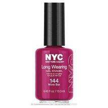 NYC Long Wearing Nail Enamel - Wine Bar - €8,18 EUR