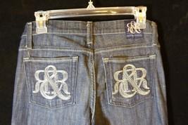 Rock & Republic Kasandra Jeans Womens Sz 27 Dark BlueCLKDS-STCK (30x35 a... - $24.70