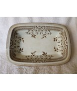 Antique Foley AF & Co OPEN VEGETABLE BOWL Brown Aesthetic Staffordshire ... - $35.00