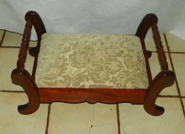 Solid Walnut Footstool / Stool - $249.00