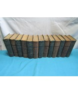 Charles Dickens 13 Volumes Carleton's New Illustrated Edition 1885 - $39.64