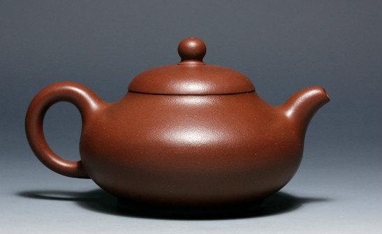Ru Ding teapot,Chinese GongFu TeaPot, YiXing Pottery Handmade zisha clay teapot,