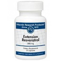 Extension Resveratrol (30 Caps) by Vitamin Research