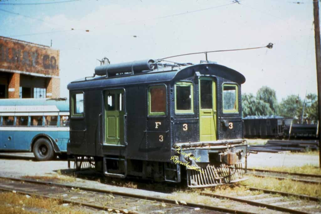 Hagerstown Frederick Rwy Motor 3 5x7 Color Photo Photographs