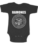 The Ramones-Classic Seal Logo-Infant's 18 Month- Creeper Shirt - $17.41