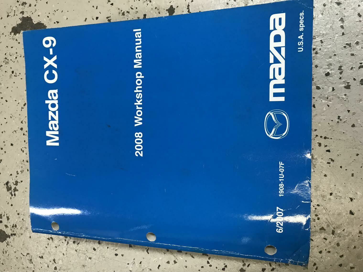 Primary image for 2008 Mazda CX-9 CX9 Service Repair Workshop Shop Manual Factory OEM