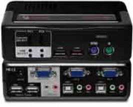 AVOCENT SwitchView MM1 2SVPUA10-001 2-Ports External KVM / audio switch ... - ₹1,589.78 INR