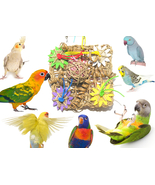 Chew & Forage Activity Vine Mat Bird Toy - Made... - $22.50