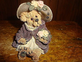Mrs Tuttle Stop & Smell The Roses Boyds Bears & Friends Bearstone Collection - $9.49