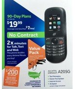 Alcatel One Touch A205G Tracfone, New Retail Packaging - $17.98