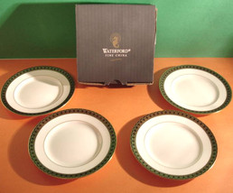 Waterford Ashworth Bread & Butter or Tidbit Party Plates SET/4 Made/UK N... - $34.99