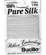 20 Paks~4mm Pale Blue Pure Silk Ribbon - $18.60