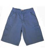 Boys Size 12 Blue Cargo Jean Shorts - $6.49