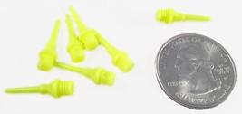 250 Yellow Micro Short Soft Dart Tips 2ba Tufflex Strong Point Plastic - $7.98